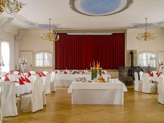 """Ihre Feierlichkeiten im Gasthaus """"Zum Engel"""" in Haßleben"""