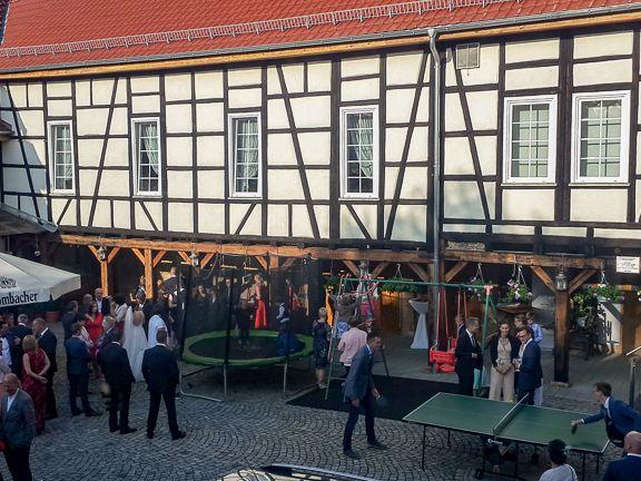 """Brunch oder Büfett - im Gasthaus """"Zum Engel"""" in Haßleben/Thüringen erleben Sie gesellige Abende"""